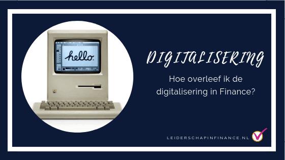 digitalisering in finance