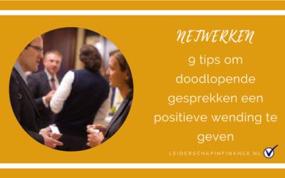 Netwerken: 9 tips om doodlopende gesprekken een positieve wending te geven