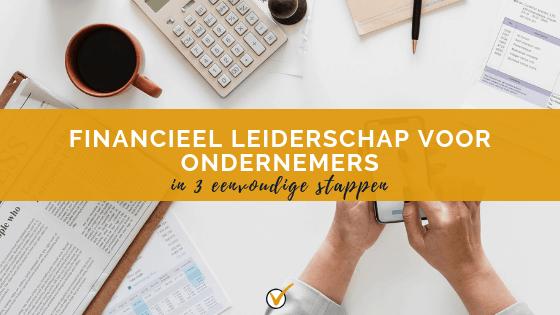 Financieel leiderschap voor ondernemers - blog
