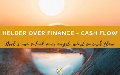 Zo belangrijk is je cashflow