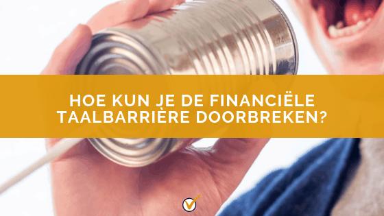 financiële taal